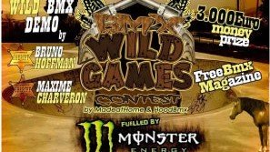 BMX Wild Games | Graphic design image