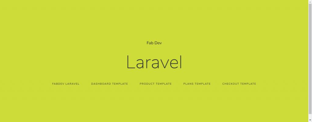 Laravel Basic App Image