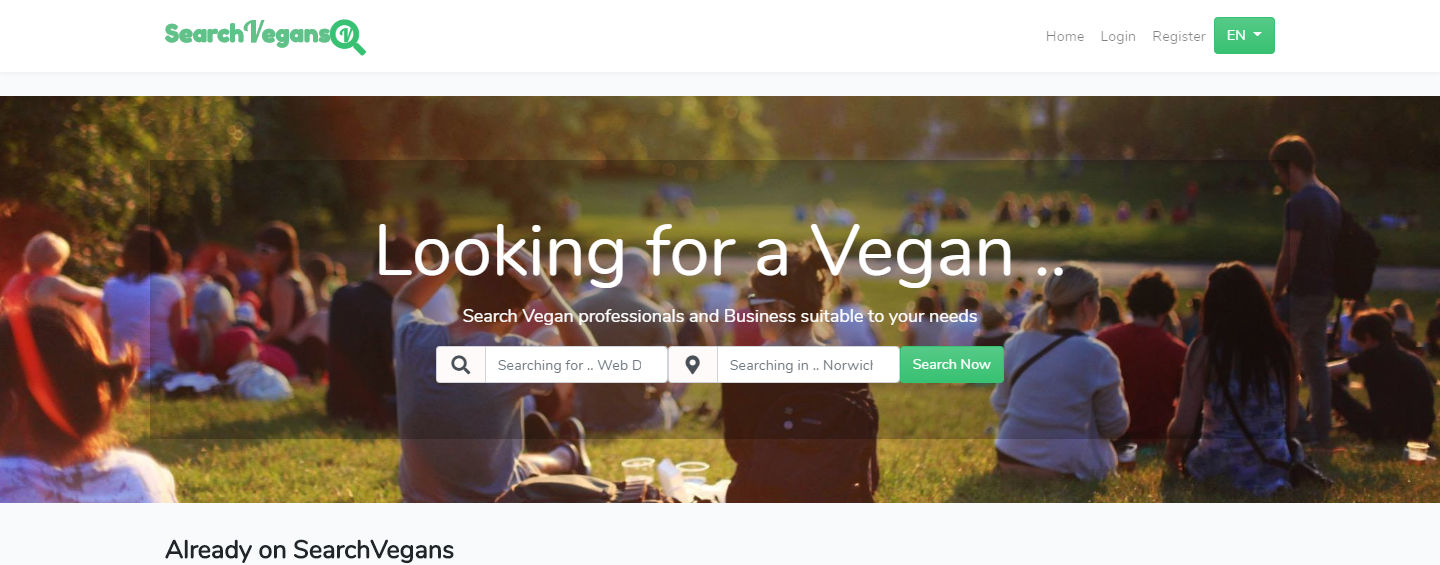 Search Vegans Directory image