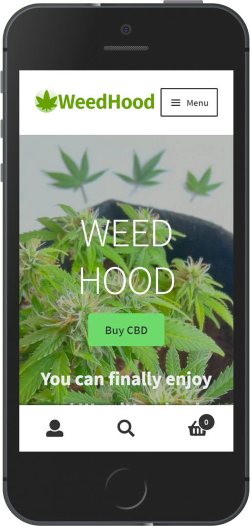 Weed hood cbd iphone preview