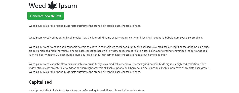Weed-Ipsum image