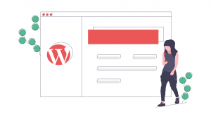 WordPress CMS website Plan image