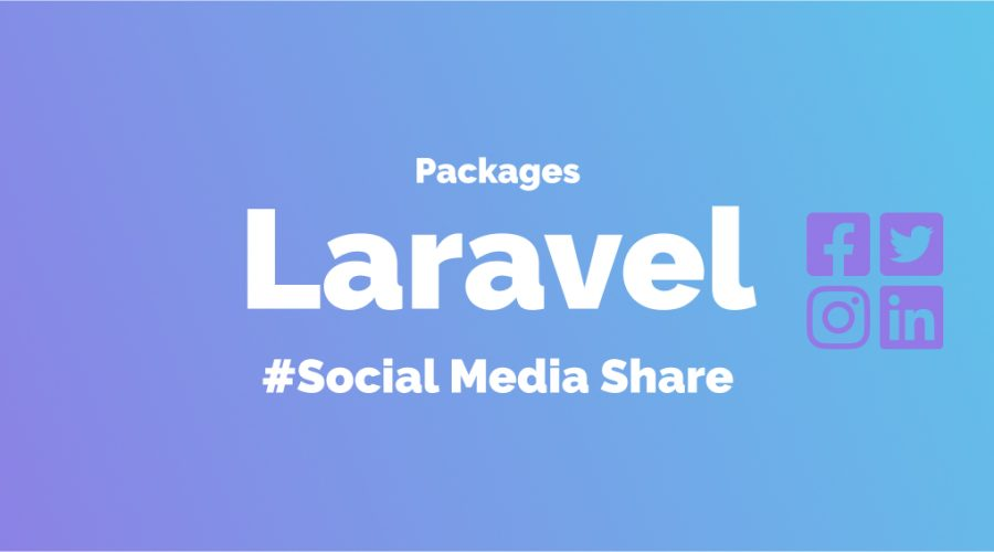 Laravel Share Package Banner