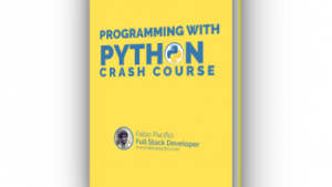 Python 3 Crash course e-book image cover