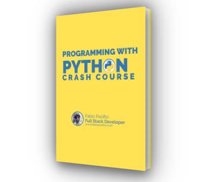 Python 3 Crash course e-book image cover